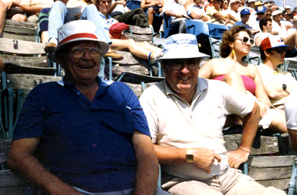 "West Palm Beach, 1983. ""The excitement on the faces of the fans was what spring training was truly all about."""