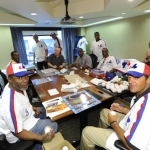Expos: Stan Bahnsen, Larry Parrish, Andre Dawson, Wallace Johnson, Warren Cromartie, Bryn Smith, Bill Gullickson, Rodney Scott, Rowland Office