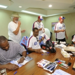 Andre Dawson, Bill Lee, Warren Cromartie, Larry Parrish, Bryn Smith, Bill Gullickson